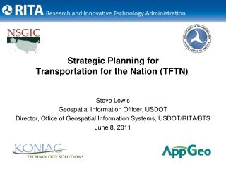 Strategic Planning for Transportation for the Nation (TFTN)