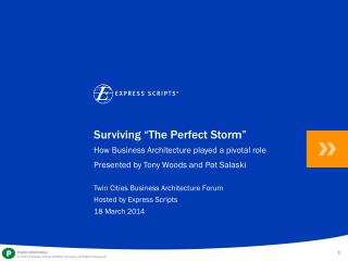 "Surviving ""The Perfect Storm"""