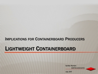 Lightweight Containerboard