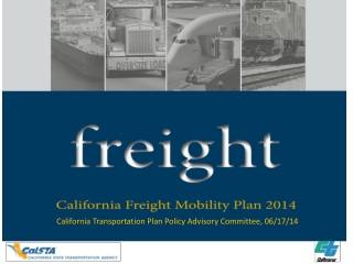 California Transportation Plan Policy Advisory Committee, 06/17/14