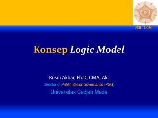 Konsep Logic Model
