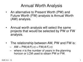 EUAW Evaluation