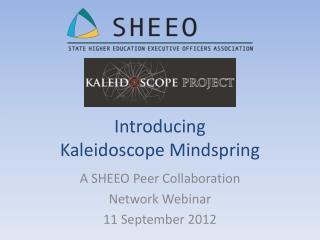 Introducing  Kaleidoscope Mindspring