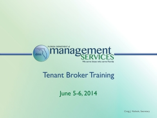Tenant Broker Training