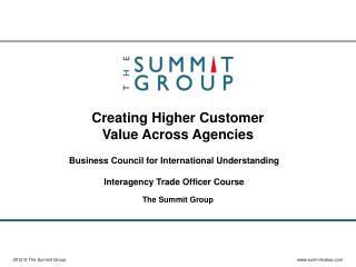 Creating Higher Customer Value Across Agencies