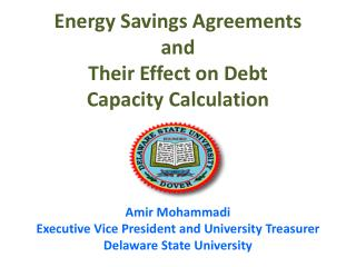 Energy Savings Agreements and Their Effect on Debt Capacity Calculation