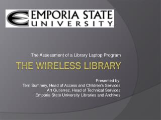 The Wireless Library