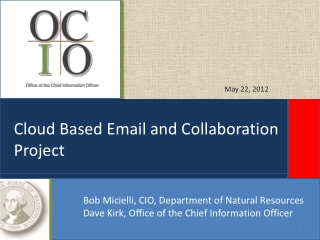 Cloud Based Email and Collaboration Project