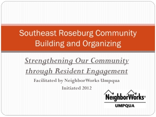 Southeast Roseburg Community Building and Organizing