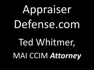 Appraiser  Defense.com