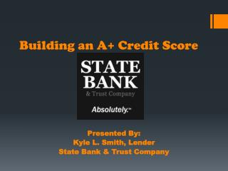 Building an A+ Credit Score