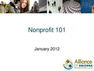 Nonprofit 101
