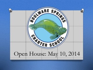 Open House: May 10, 2014