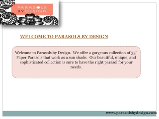 Parasols By Design