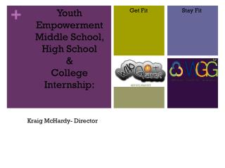 Youth Empowerment Middle School, High School  & College Internship: