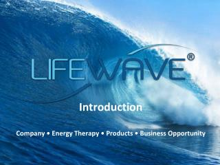 Introduction Company  • E nergy  T herapy  • P roducts • Business  O pportunity
