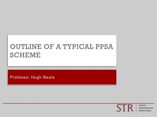 Outline of A typical PPSA scheme