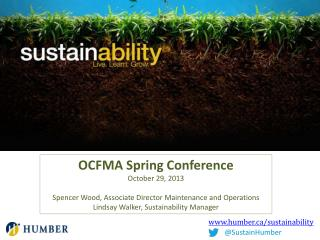 www.humber.ca/sustainability
