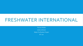 Freshwater International