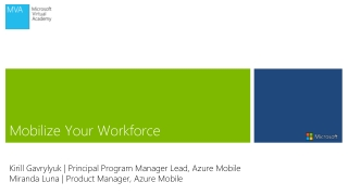 Mobilize Your Workforce