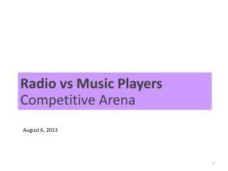 Radio vs Music Players  Competitive Arena