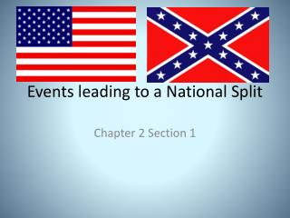Events leading to a National Split