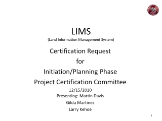 LIMS (Land Information Management System)