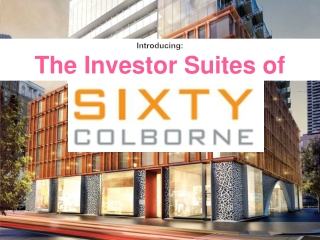 Introducing: The Investor Suites of