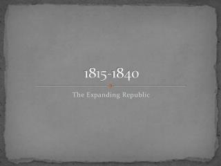 1815-1840