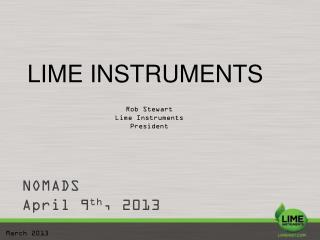 LIME INSTRUMENTS