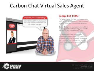 Carbon Chat Virtual Sales Agent