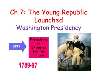 Ch 7: The Young Republic Launched Washington Presidency