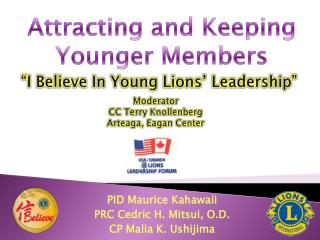 """I Believe In Young Lions' Leadership"""