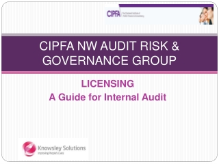 CIPFA NW AUDIT RISK & GOVERNANCE GROUP