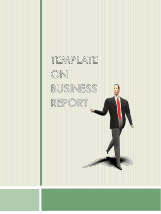 TEMPLATE  ON BUSINESS REPORT