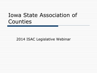 Iowa State Association of Counties