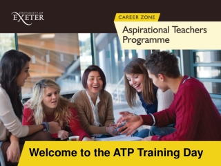 Welcome to the ATP Training Day
