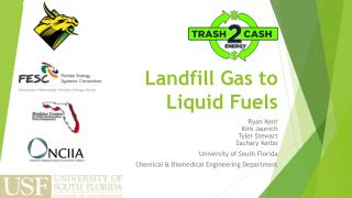 Landfill Gas to Liquid Fuels