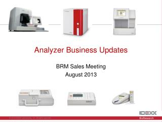Analyzer Business Updates