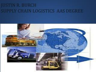 Justin R. Burch Supply Chain logistics  aas Degree