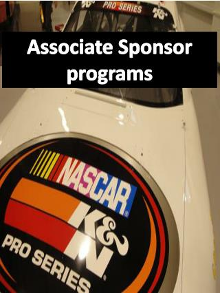 Associate Sponsor programs