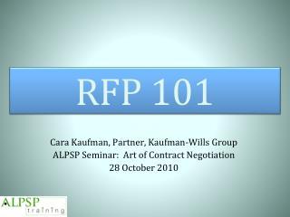 RFP 101