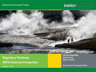 Geothermal Technologies Program