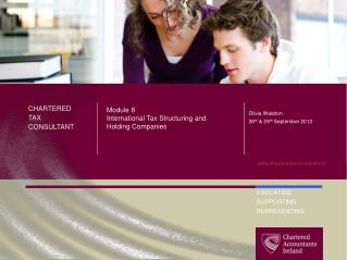 Module 8 International Tax Structuring and Holding Companies