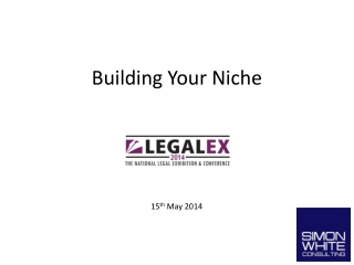 Building Your Niche