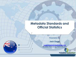 Metadata Standards and Official Statistics