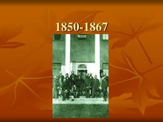 1850-1867