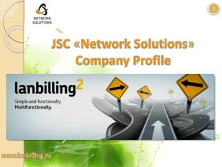JSC  « Network Solutions » Company Profile