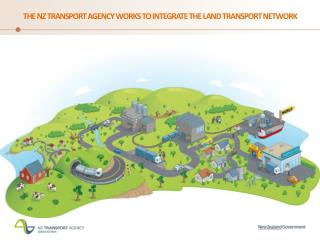 The NZ Transport agency works to integrate the land transport network