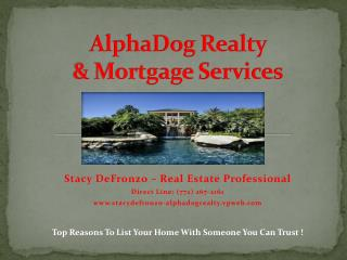 AlphaDog  Realty  & Mortgage Services